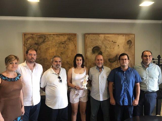 Homenaje del Ayuntamiento de Marratxí a la futbolista Cata Coll
