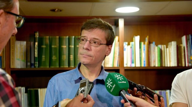 Secretario de Acción Electoral y Programa del PSOE-A, Carmelo Gómez