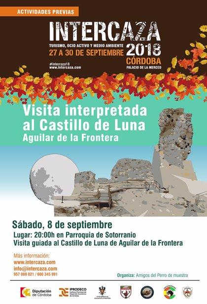 La visita interpretada al Castillo Luna de Aguilar y paintball, actividades previas a Intercaza