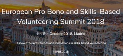 Madrid acogerá en octubre un encuentro europeo sobre voluntariado corporativo organizado por Fundación Hazloposible