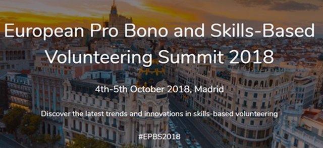 Madrid acogerá en octubre un encuentro europeo sobre voluntariado corporativo or