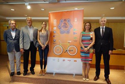 La ciudad de Málaga celebra una vez más su Día de la Bici para fomentar el ciclismo como medio de desplazamiento