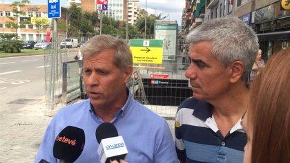 """Alberto Fernández (PP) ve """"indecente"""" que Torra asista a la inauguración de la L10 de Metro"""