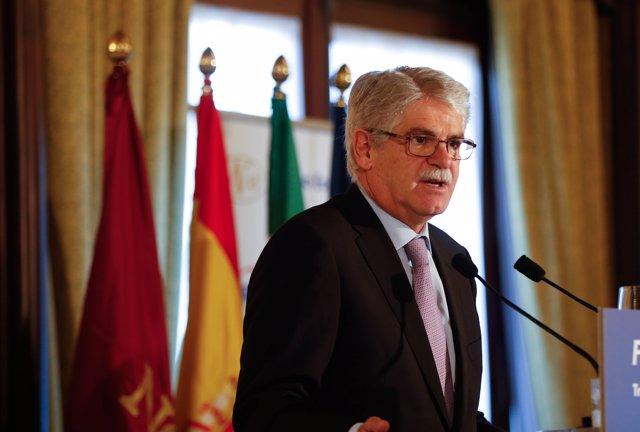 El exministro de Exteriores Alfonso Dastis