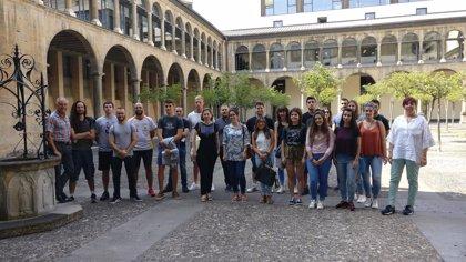 Una veintena de estudiantes de Formación Profesional comienzan el curso en empresas de la Unión Europea