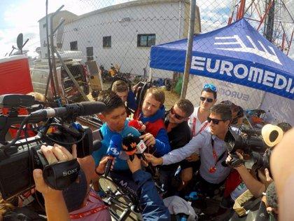 "Nairo Quintana: ""Ha empezado otra Vuelta con el primer día de montaña real"""