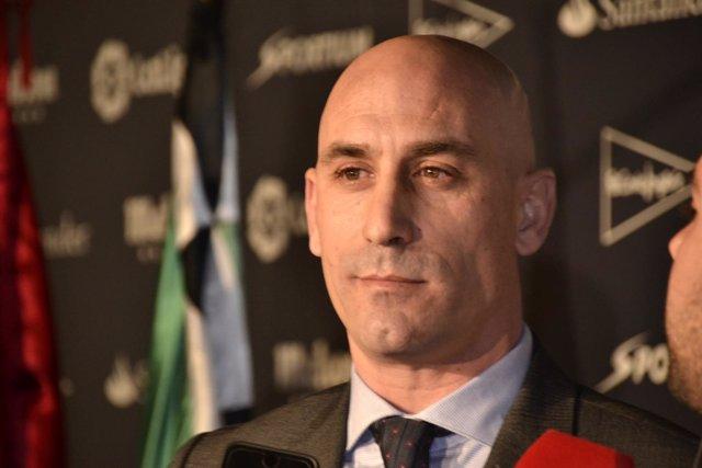 Luis Rubiales, candidato a la presidencia de la RFEF en 2018