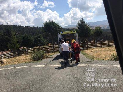 Auxiliada una montañera herida en una pierna en Gredos
