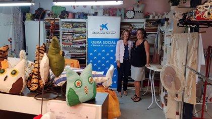 El comedor social del proyecto de salud mental de Deixalles recibe 9.000 euros por parte de la Caixa