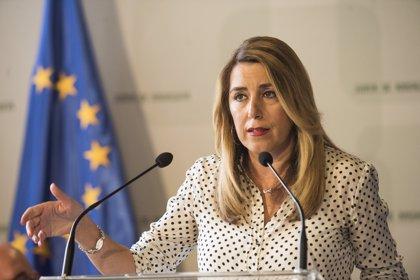 """Susana Díaz pide una """"responsabilidad compartida"""" y """"obligatoria"""" en la UE ante inmigración y mayor dotación de recursos"""