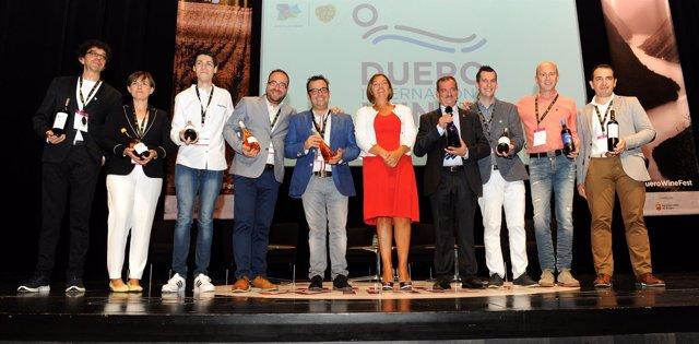 Homenaje a los sumilleres en el Congreso Internacional Duero Wine