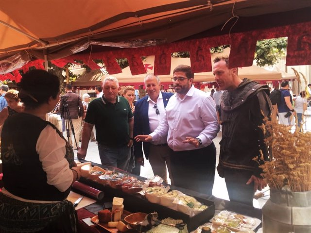 Presencia de la marca colectiva Ávila Auténtica en el Mercado Medieval de Ávila