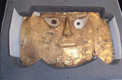 Perú recupera la Máscara de Sicán, incautada por Alemania desde 1999
