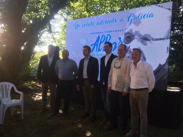Homenaje a Albor en el Parque de Bonaval