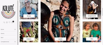 La marca de ropa del taller de confección industrial de Cáritas Mallorca ya tiene página web