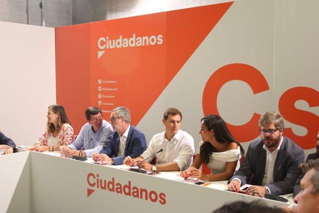 Reunión del Comité Ejecutivo Nacional de Ciudadanos en Málaga