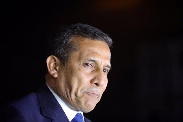 El ex presidente peruano Ollanta Humala