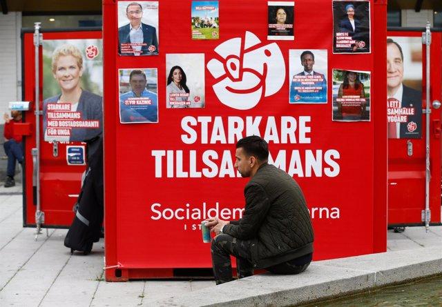 Propaganda electoral del Partido Socialdemócrata de Suecia