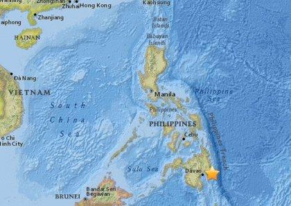 Registrado un terremoto de magnitud 6,1 en el sur de Filipinas