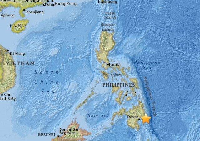 Terremoto de magnitud 6,1 en Filipinas