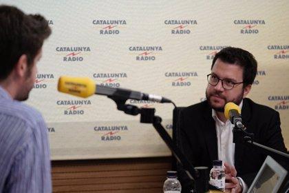"""Aragonès pide presionar para que el Estado sufra """"un coste"""" en los juicios a soberanistas"""