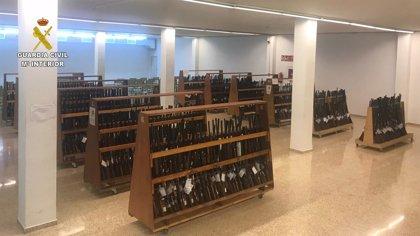 La Guardia Civil organiza a partir de este lunes una nueva subasta de armas