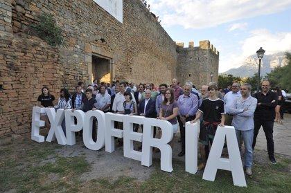 """Gracia (DPH) inaugura la Expoferia de Sobrarbe, un escaparate de """"la diversificación económica"""" del medio rural"""