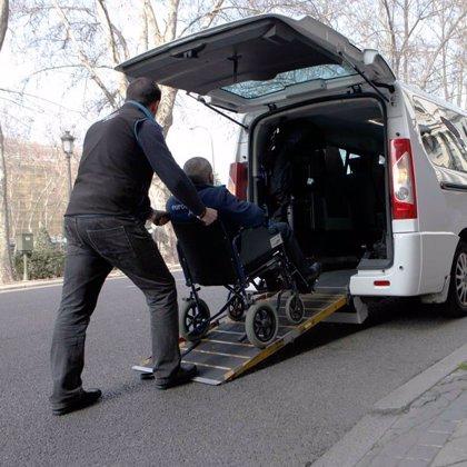 Un total de 266 personas con discapacidad se benefician de las ayudas del bonotaxi en Murcia