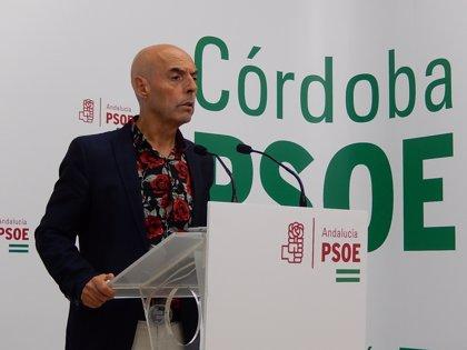 """Hurtado critica el """"empobrecimiento"""" de los becarios de la UCO con Rajoy, que revertirá el Gobierno del PSOE"""