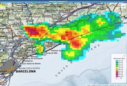 El 112 recibe cerca de 700 llamadas por las tormentas en Barcelona