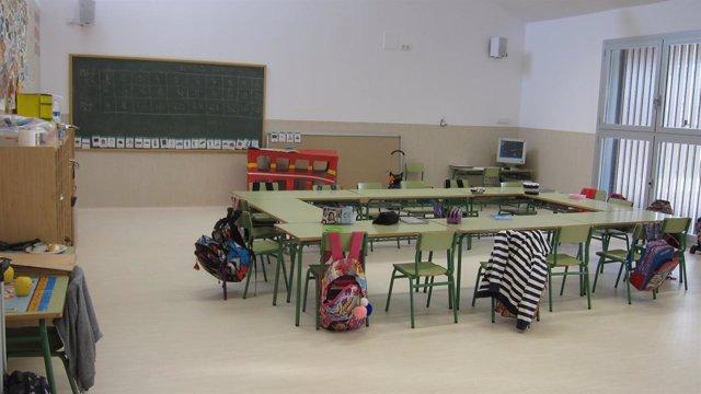 Aula De Un Colegio De Infantil Y Primaria
