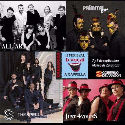 Arranca la segunda edición del 'Festival b vocal a cappella de Zaragoza' con cuatro grupos nacionales e internacionales