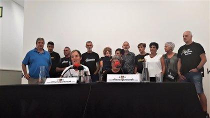 Familiares de los condenados del 'caso Alsasua' celebran su acercamiento a cárceles de Navarra y Euskadi