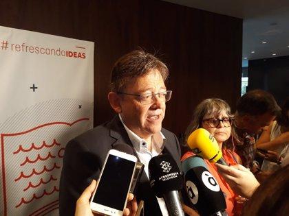 """Puig cree que la estabilidad del Botànic es hoy un activo """"más potente"""" que la """"singularidad"""" de un adelanto electoral"""