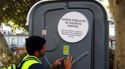 Los seis barrios del distrito Centro cuentan con 28 nuevos baños públicos que están operativos las 24 horas del día