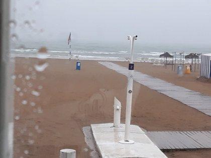 Activada la preemergencia por lluvias en el litoral sur de València y el norte de Alicante
