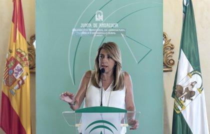 """Susana Díaz replica a Rivera que sus """"prioridades"""" no coinciden y que ella trabaja por los """"problemas"""" de los andaluces"""