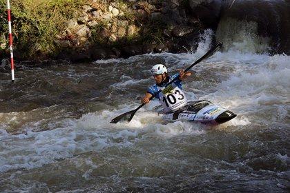 Maialen Chourraut se cuelga la plata en la Copa del Mundo de slalom de La Seu d'Urgell