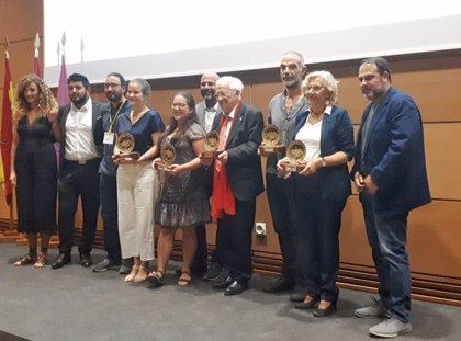 Carmena recibe el premio al 'Compromiso en la integración y Convivencia Ciudadana' del Foro 'Toledo, cultura de paz'