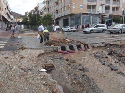 La lluvia deja incidencias en La Herradura (Granada) con dos trombas de agua