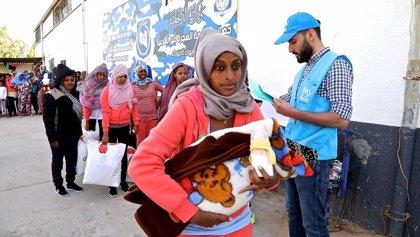 ACNUR habilita instalaciones en Trípoli para acoger a los desplazados por el último brote de violencia