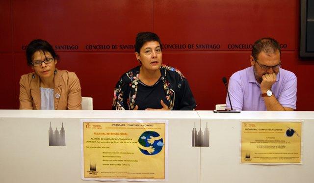 Concha Fernández presenta la cuarta edición del Festival Intercultural.