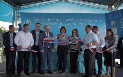 Inaugurado un centro de capacitación profesional en Neiba (República Dominicana) con el apoyo de la Junta