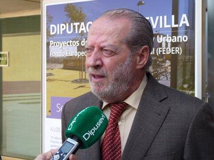 Villalobos valora la resolución de Hacienda que permitirá a Diputación de Sevilla gestionar 19 millones de los Edusi