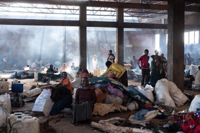 Desplazados por la violencia en el suroeste de Etiopía