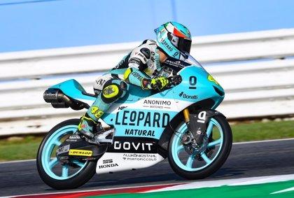 Dalla Porta estrena victoria en Moto3 y Jorge Martín recupera el liderato con un podio