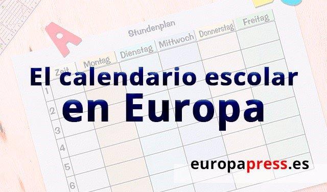 Calendario Escolar Europa 2019.Cuando Es La Vuelta Al Cole En Los Paises Europeos