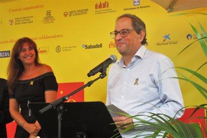 """Torra invita a los catalanes a hacer de la jornada un """"clamor por la libertad"""""""