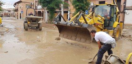 Una persona hospitalizada tras la riada de Cebolla, donde trabajan más de cien efectivos