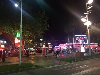 Cuatro detenidos por los apuñalamientos a un turista durante una pelea en un hotel de Magaluf